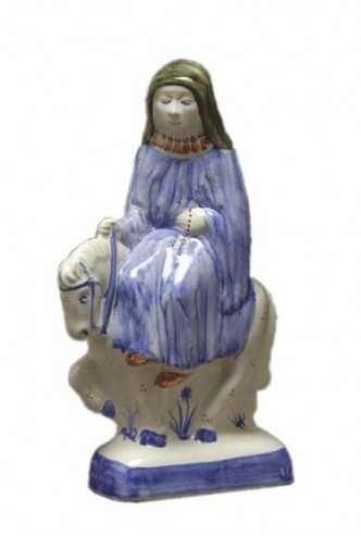 Rye Pottery - Chaucer's Canterbury Tales - the Nun Prioress