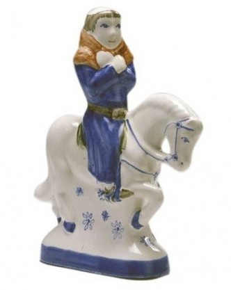 Rye Pottery - Chaucer's Canterbury Tales - The Parson