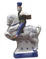 Rye Pottery figures from Chaucer's Canterbury Tales - The Squire Height 23 cm/9 in