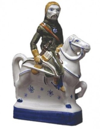 Rye Pottery - Chaucer's Canterbury Tales - The Yeoman
