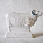 Rye Pottery Ram Part of our new all-white collection