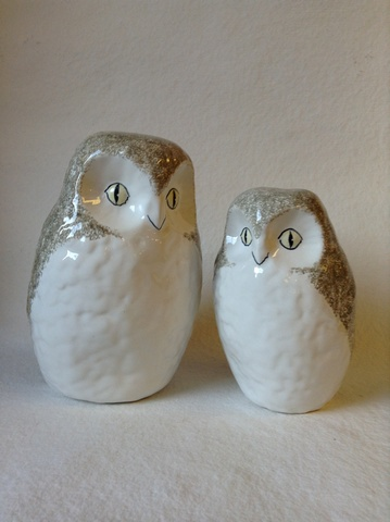 Rye Pottery 187 The Owls
