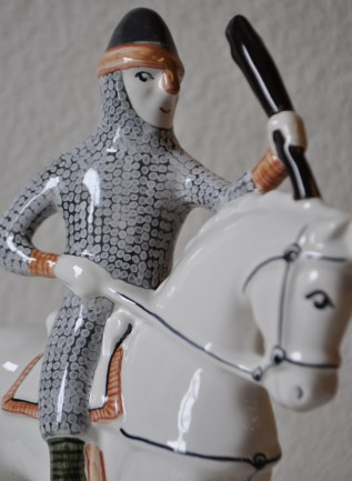 ye Pottery - William The Conqueror Figure