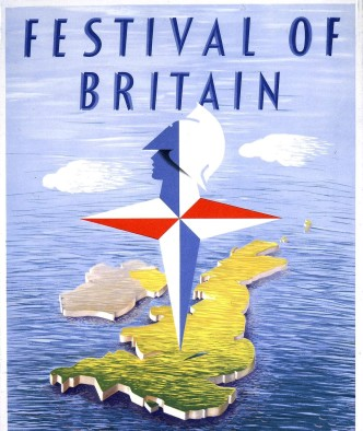 Festival of Britain Rye Pottery exhibits pottery and Ceramics at the 1951 show Cropped WORK_25_234_1951