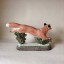 Rye Pottery - English Animals - Hand-made Ceramic Vixen or Fox Detail Face