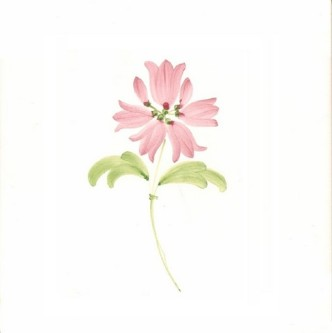 Rye Pottery Hand-painted FLower Tiles - Bell FLowers