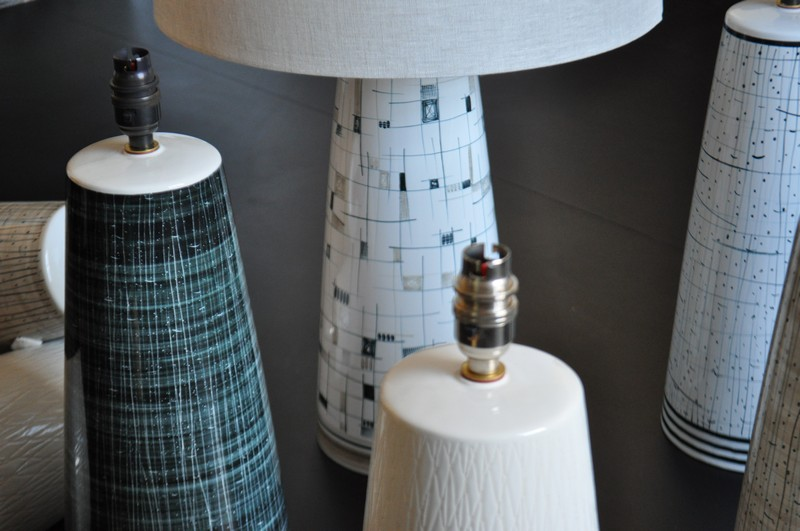 Rye pottery the lb1 table lamp aw 1718 the mid century modern lb1 lampbase in large and now in medium too mozeypictures Gallery