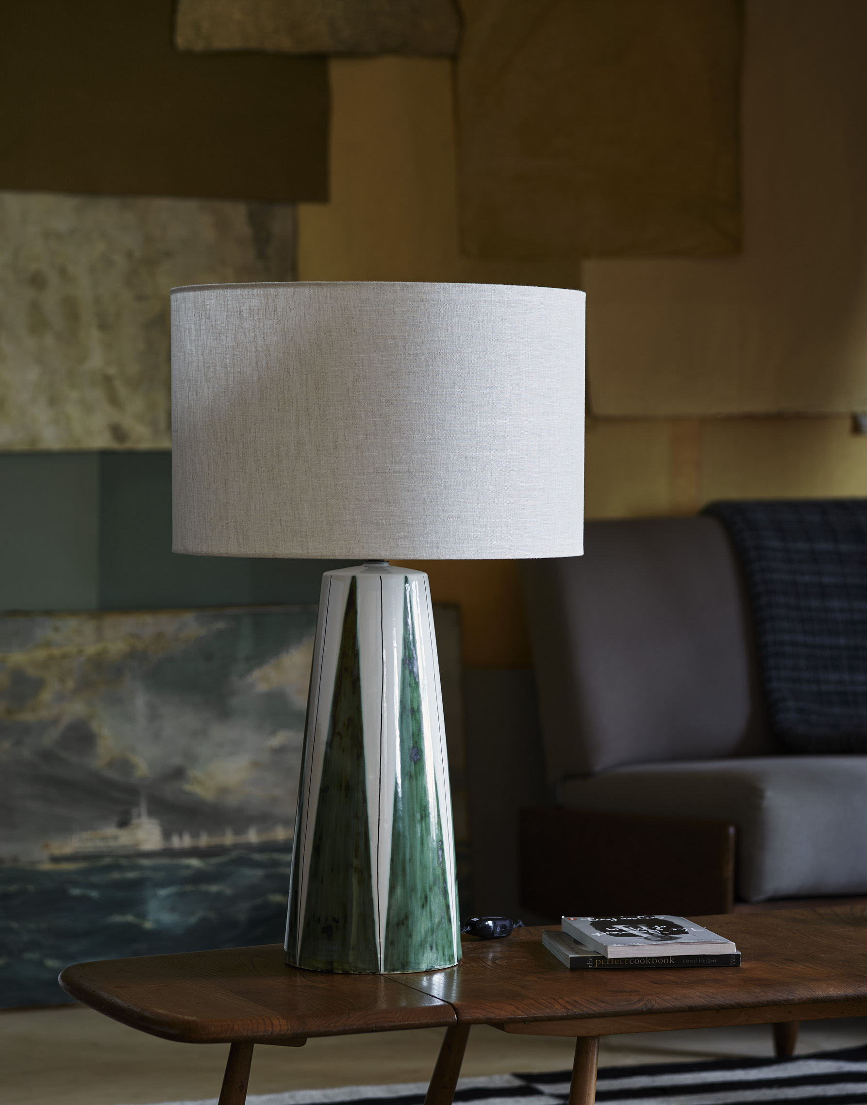 Rye Pottery » The LB1 Table Lamp Black