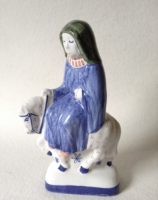 Rye Pottery Chaucers Canterbury Tales Collection Hand made and decorated The Nun Prioress
