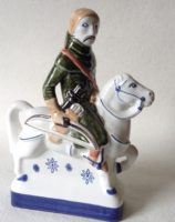 Rye Pottery Chaucers Canterbury Tales Collection Hand made and decorated The Yeoman