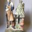 Rye Pottery - Hand made and painted English Figures Collection The Country Gardener - Male Gardener