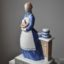 Rye Pottery - Hand made and painted English Figures Collection The Rye Cook Mrs Beeton