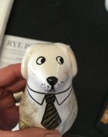 Dog lover Gift Puppy Rye Pottery Hand made and hand decorated ceramic Puppies and Dogs1