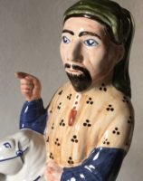 Canterbury Tales Chaucer gift Rye Pottery Hand made and painted figures from Chaucer Canterbury Tales Geoffrey Chaucer1