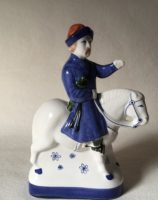 Chaucer Medieval Literary Gift Rye Pottery Hand made and painted figures from Chaucer Canterbury Tales The Skipper or Shipman