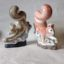 Countryside gift Squirrel Rye Pottery Hand made and painted Squirel