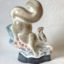 Countryside gift Squirrel Rye Pottery Hand made and painted Squirrel