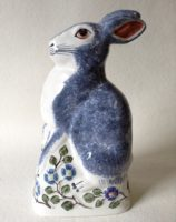 Rabbit Ceramic Pottery Gift Rye Pottery hand-made and painted Rye Rabbit 4